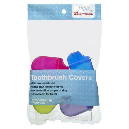 Walgreens Toothbrush Covers - 4 ea