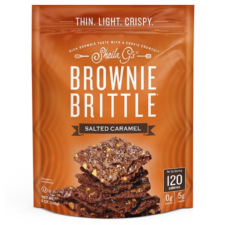 Brownie Brittle Snacks Salted Caramel - 5 oz.