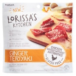 Lorissa's Kitchen Chicken Snacks Ginger Teriyaki