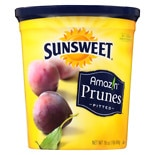 Sunsweet Naturals Pitted Prunes Canister