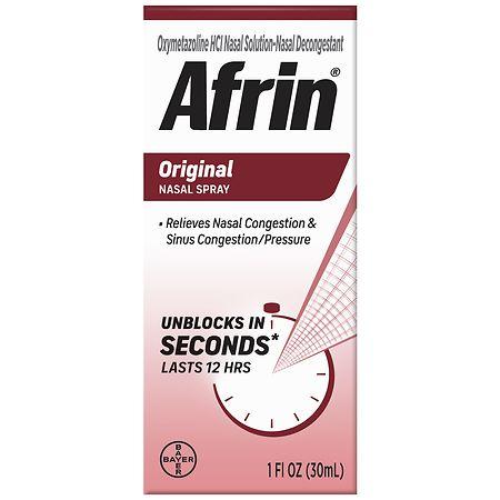 Afrin 12 Hour Nasal Spray, Original -