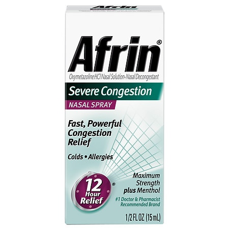 Afrin Severe Congestion Nasal Spray - 0.5 oz.
