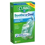 Curad Soothe & Cool Instant Cooling Technology Clear Gel Bandages Assorted