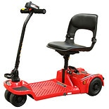 Shoprider Echo Folding Mobility Scooter Red