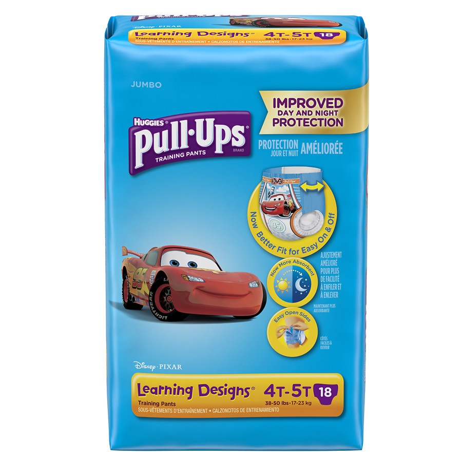 Walgreens Toys For Boys : Huggies pull ups learning designs training pants for boys