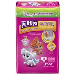 Huggies Pull-Ups Learning Designs Training Pants for Girls Size 4T-5T