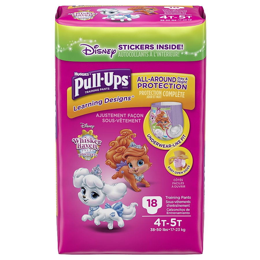 by Groceries Huggies Pull Ups Night Time Potty Training Pants for Girls Size 6 Large 16-23kg 10