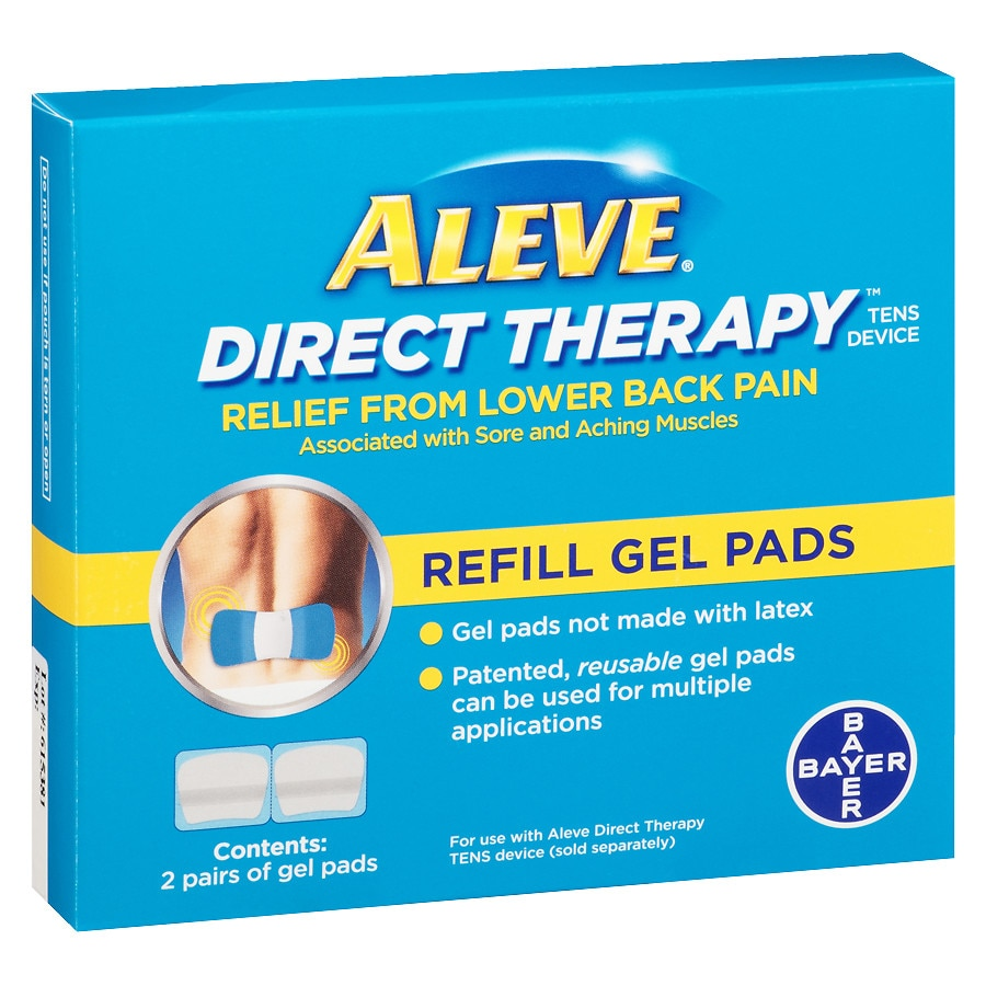 Aleve Direct Therapy Tens Refill Kit 4 Pads Walgreens