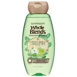 Garnier Whole Blends Shampoo with Green Apple & Green Tea Extracts, Normal Hair