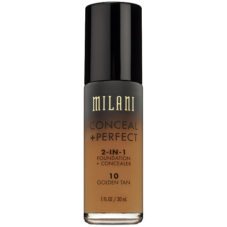 Milani Conceal + Perfect 2-In-1 Foundation + Concealer - 1 oz.