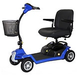 Shoprider Escape 4 Wheel Portable Scooter Blue