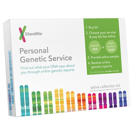 Image of 23andMe Personal Genetic Service Saliva Collection Kit - 1 ea