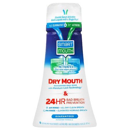SmartMouth Dry Mouth Mouthwash Mint - 16 oz.