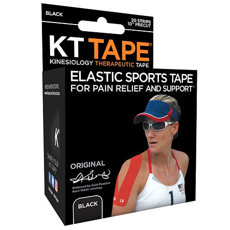 KT Tape Original Precut Strips - 20 ea