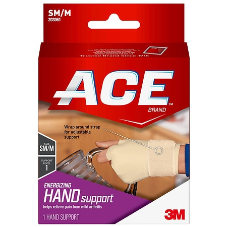 Ace Energizing Hand Support Level 1 Small/Medium - 1 EA