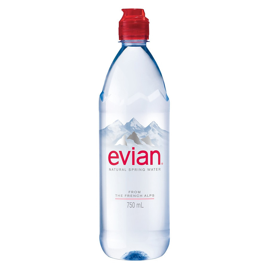 2a2bef31e2 Evian Water With Sports Cap | Walgreens