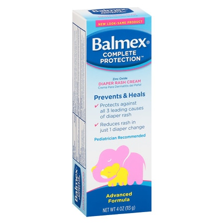 Balmex Diaper Rash Cream - 4 oz.