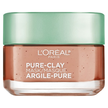 Image of L'Oreal Paris Pure-Clay Mask Exfoliate And Refine Pores - 1.7 oz.
