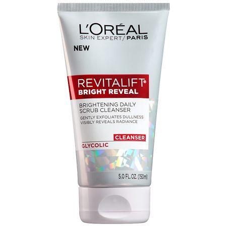 Loreal Paris Revitalift Bright Reveal Brightening Daily Scrub Cleanser 5 Oz.