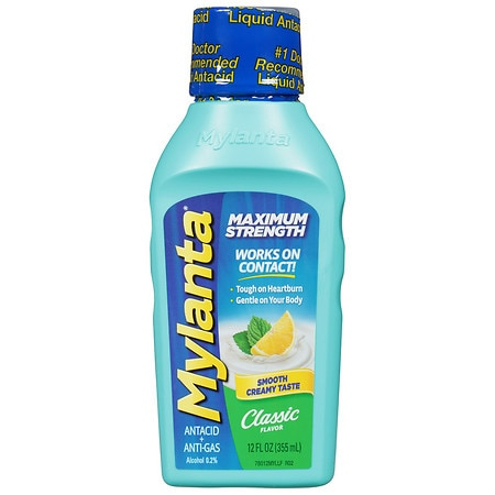 Mylanta Maximum Strength Classic Flavor - 12 oz.