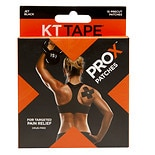 KT Tape Pro X Patches Black