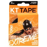 KT Tape Pro Extreme 10'' Strips Black