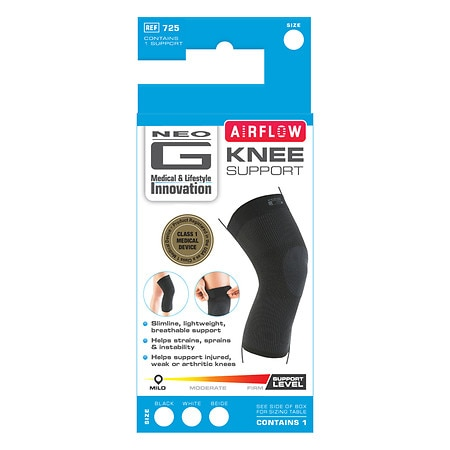 Neo G Airflow Knee Support X Large - 1 ea