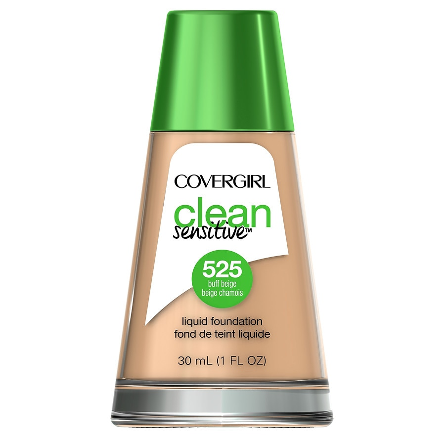 CoverGirl Clean Sensitive Skin Liquid Foundation, Buff Beige