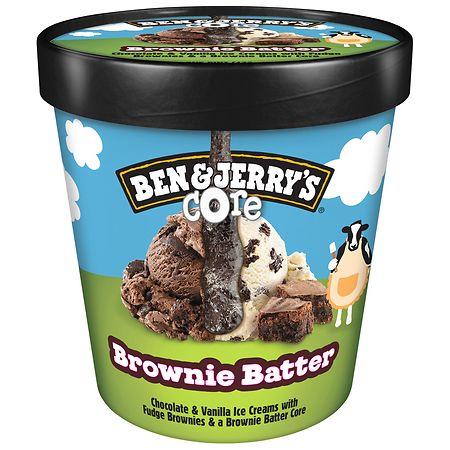 Ben & Jerry's Ice Cream Brownie Batter Core - 16 oz.