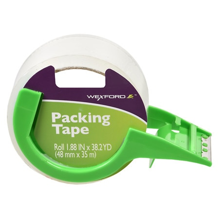 Wexford Packing Tape With Dispenser 1.88 Inches - 38.19 yd