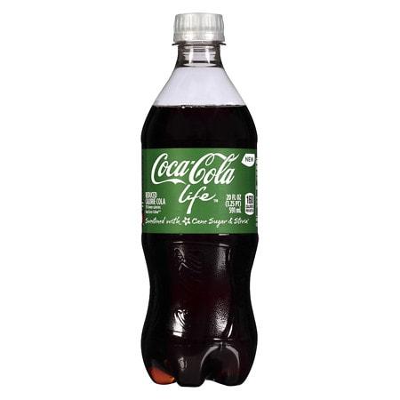 Coke Life Soda Cola - 20 oz.