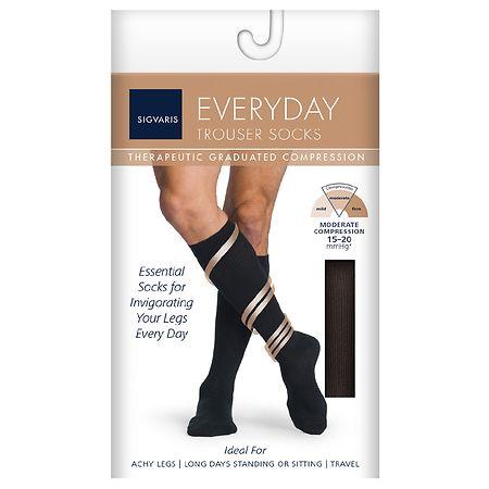 Sigvaris Men's Trouser Socks Knee High 15-20 mmHg - 1 pr