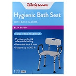 Walgreens Bath Seat With Arms & Back