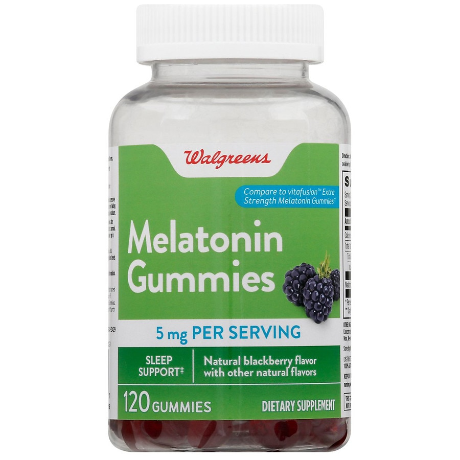 Walgreens Melatonin Extra Strength Gummies Walgreens