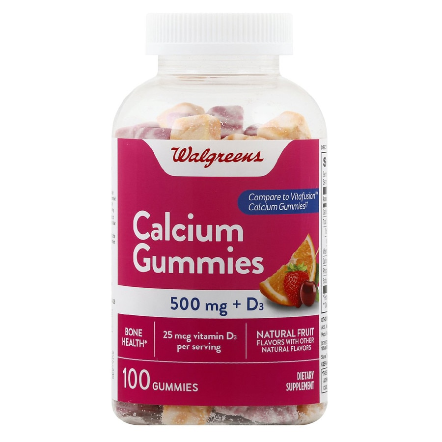 Walgreens Calcium Gummies
