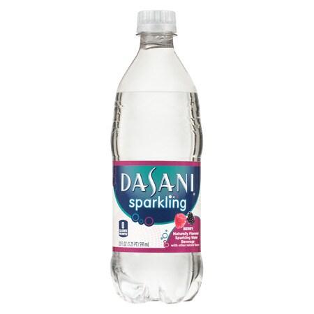 Dasani Sparkling Water Berry - 20 oz.