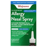 Well at Walgreens 24-Hour Fluticasone Propionate Nasal Spray 120 Metered Spray