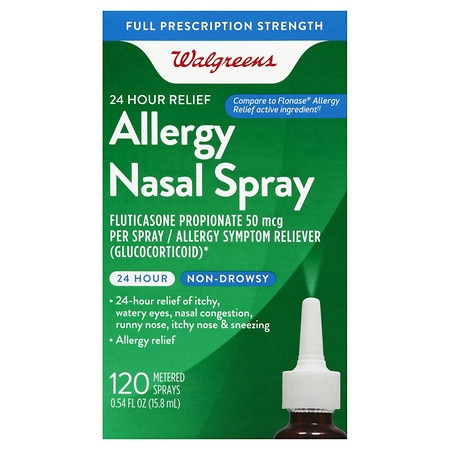 Well at Walgreens 24-Hour Fluticasone Propionate Nasal