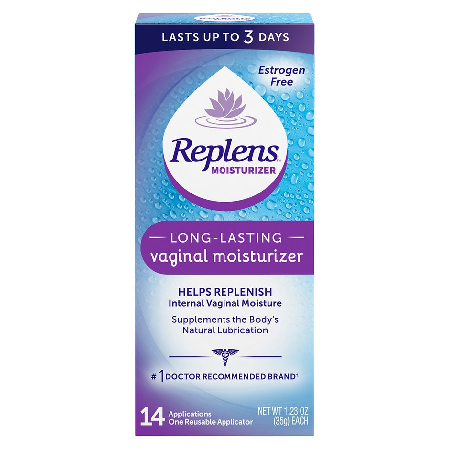 Replens Long Lasting Vaginal Moisturizer with Reusable Applicator