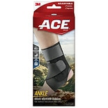 Ace Ankle Brace With Stabilizer Adjustable Black