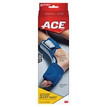 Ace Plantar Fasciitis Sleep Support One Size Fits All Gray