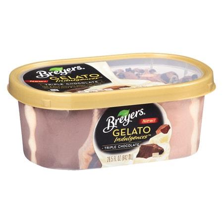 Breyers Gelato Indulgences Chocolate Fudge Truffle - 28.5 oz.