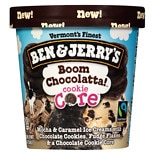 Ben & Jerry's Ice Cream Boom Chocolatta! Cookie Core