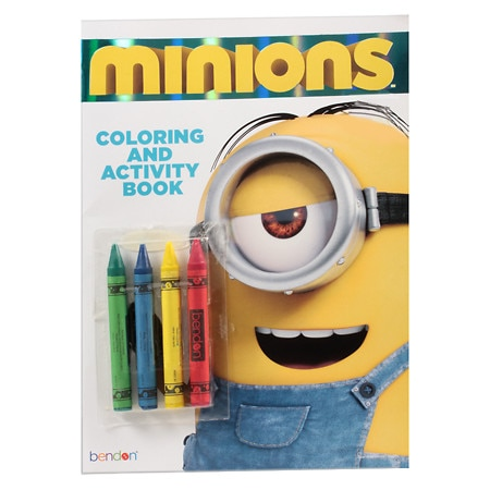 MINIONS Minions Color Book With Crayons - 1 ea