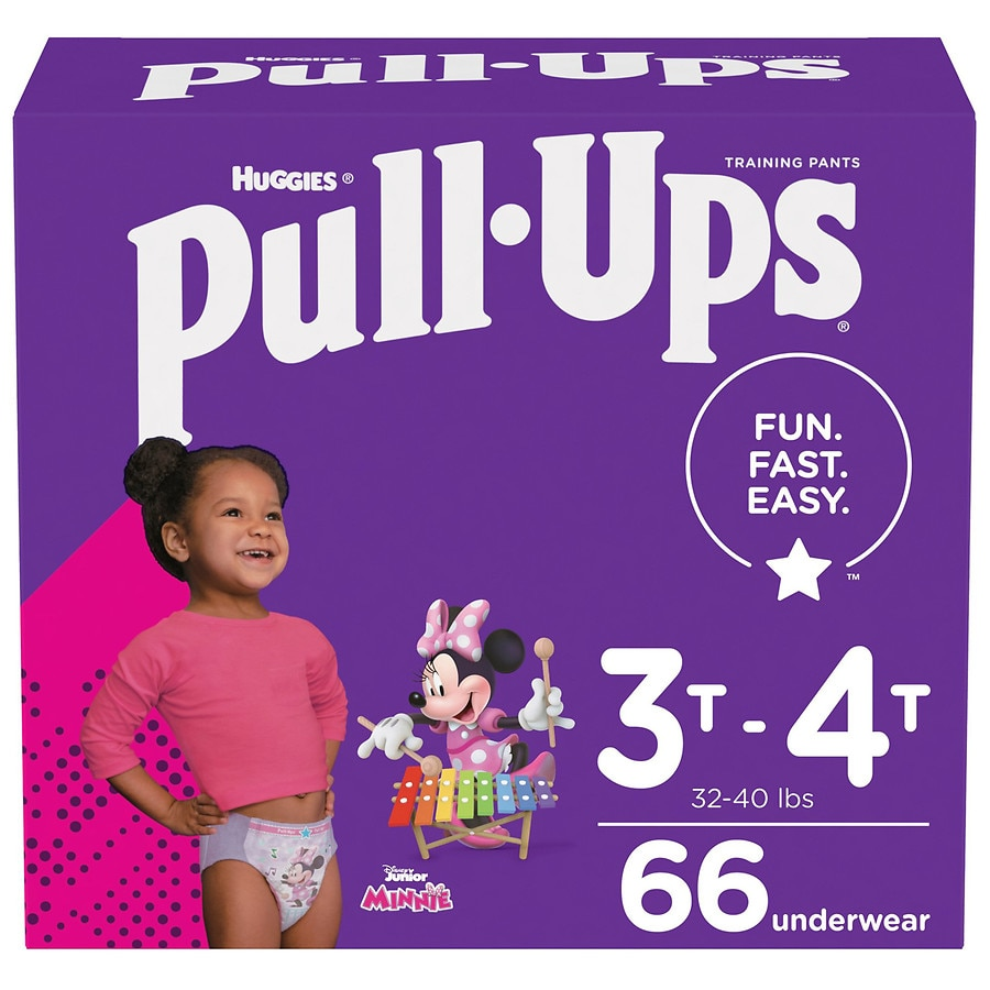 Huggies Pull-Ups Training Plus for Girls *PICK SIZE*