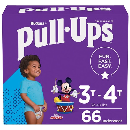 Huggies Pull-Ups Learning Designs Training Pants for Boys 3T - 4T - 66 ea