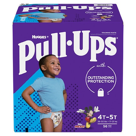 Huggies Pull-Ups Learning Designs Training Pants for Boys 4T - 5T - 56 ea