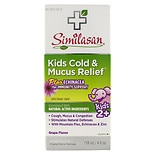 Similasan Kids Cold & Mucus Relief Plus Echinacea Grape