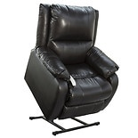 Mega Motion 3 Position Ramey Lift Chair Lexi Sta Kleen Vinyl Black