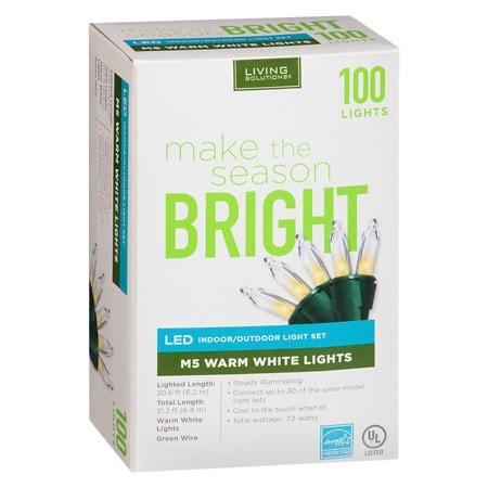 Living Solutions M5 Bulbs 100 Count - 1 ea